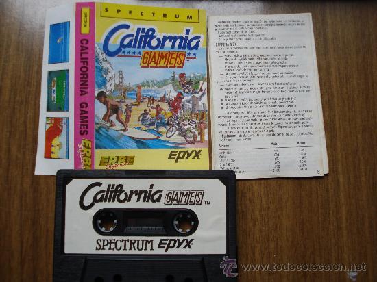 Videojuegos y Consolas: JUEGO SPECTRUM SINCLAIR, CALIFORNIA GAMES - Foto 2 - 27046081