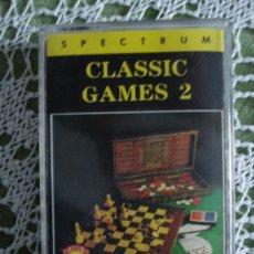 Videojuegos y Consolas: JUEGO SPECTRUM SINCLAIR, CLASSIC GAMES 2. Lote 27243565