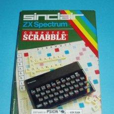 Videojuegos y Consolas: COMPUTER SCRABBLE. ZX SPECTRUM. SINCLAIR. Lote 27138918