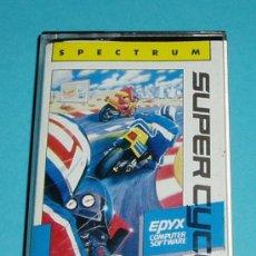 Videojuegos y Consolas: SUPERCYCLE. SPECTRUM. EPYX. Lote 26831316