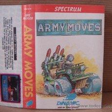 Videojuegos y Consolas: VIDEO JUEGO CASETE SPECTRUM - ARMY MOVES - DINAMIC 1986 - INSTRUCCIONES . Lote 26319607