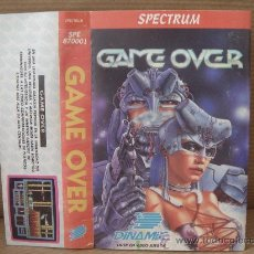 Videojuegos y Consolas: VIDEO JUEGO CASETE SPECTRUM - GAME OVER - DINAMIC 1986 - INSTRUCCIONES . Lote 26319687