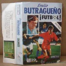 Videojuegos y Consolas: VIDEO JUEGO CASETE SPECTRUM - EMILIO BUTRAGUEÑO FUTBOL - OCEAN 1988 - INSTRUCCIONES. Lote 26319766