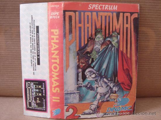 VIDEO JUEGO CASETE SPECTRUM - PHANTOMAS II DINAMIC 1986 - INSTRUCCIONES (Juguetes - Videojuegos y Consolas - Spectrum)