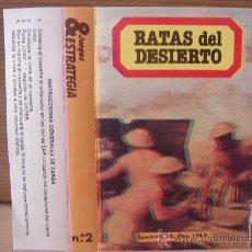 Videojuegos y Consolas: VIDEO JUEGO CASETE SPECTRUM - RATAS DEL DESIERTO HOBBY PRESS 1985 - . Lote 26490181