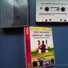 Videojuegos y Consolas: JUEGO SPECTRUM GRAND PRIX. Lote 26731337