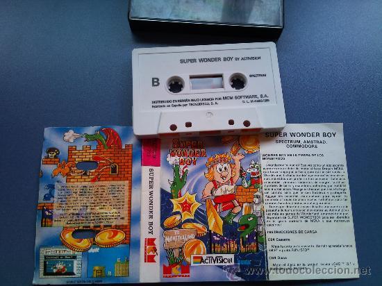 JUEGO SPECTRUM SUPER WONDER BOY (Juguetes - Videojuegos y Consolas - Spectrum)