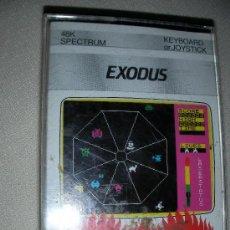 Videojuegos y Consolas: JUEGO PARA SPECTRUM 48K EXODUS FIREBIRD - ENVIO GRATIS A ESPAÑA. Lote 26838822