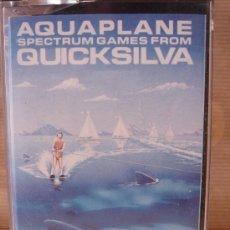 Videojuegos y Consolas: VIDEO JUEGO CASETE SPECTRUM - AQUAPLANE QUICKSILVA - 1983 . INSTRUCCIONES . Lote 27264210