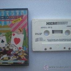 Videojuegos y Consolas: CINTA DE CASSETTE SPECTRUM MICROHOBBY.SINCLAIR.NUMERO 2_AÑO 1_1985. Lote 27937731