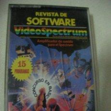 Videojuegos y Consolas: CASSETTE CON 15 PROGRAMAS VIDEOSPECTRUM . Lote 28628404