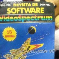 Videojuegos y Consolas: REVISTA Nº 6 SOFTWARE VIDEOSPECTRUM. Lote 30448931