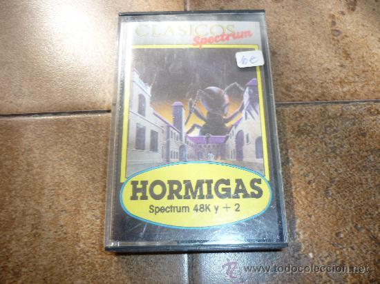 JUEGO DE SPECTRUM HORMIGAS (Juguetes - Videojuegos y Consolas - Spectrum)
