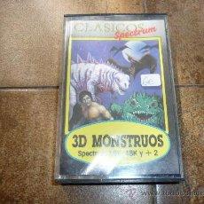 Videojuegos y Consolas: JUEGO DE SPECTRUM 3D MONSTRUOS . Lote 31153653