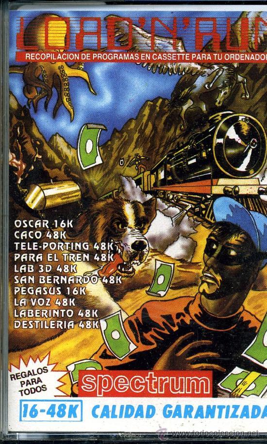 SPECTRUM LOAD´N´RUN (Juguetes - Videojuegos y Consolas - Spectrum)
