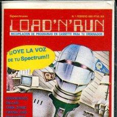 Videojuegos y Consolas: SPECTRUM LOAD´N´RUN . Lote 32686340