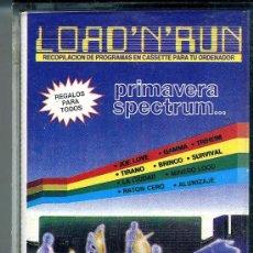 Videojuegos y Consolas: SPECTRUM LOAD´N´RUN . Lote 32686391