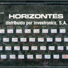 Videojuegos y Consolas: SPECTRUM - HORIZONTES. Lote 32686763