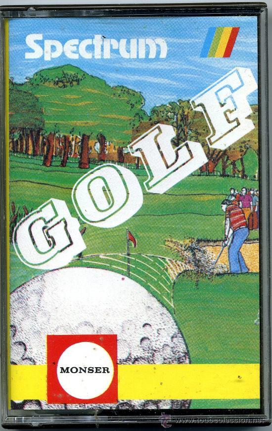 SPECTRUM GOLF- MONSER (Juguetes - Videojuegos y Consolas - Spectrum)