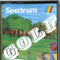 Videojuegos y Consolas: SPECTRUM GOLF- MONSER. Lote 32686155