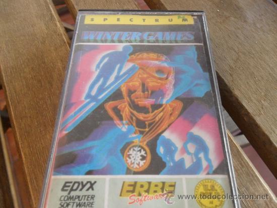 JUEGO SPECTRUM WINTER GAMES (Juguetes - Videojuegos y Consolas - Spectrum)