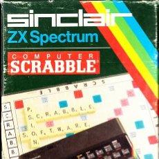 Videojuegos y Consolas: JUEGO CASSETTE ZX SPECTRUM SINCLAIR SCRABBLE. Lote 42156117