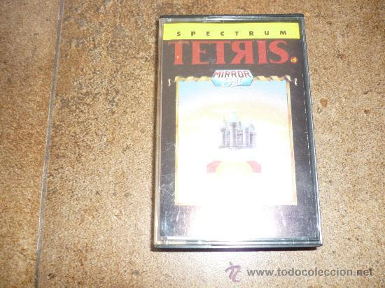 JUEGO DE SPECTRUM UN CLASICO TETRIS BUEN PRECIO (Juguetes - Videojuegos y Consolas - Spectrum)