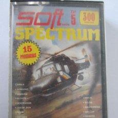 Videojuegos y Consolas: JUEGO SPECTRUM SOFT 15 PROGRAMAS. Lote 33339603