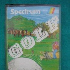 Videojuegos y Consolas: JUEGO Nº 7A SOFTWARE MAGAZINE. GOLF 1985 PARA ORDENADOR 48K SINCLAIR SPECTRUM. Lote 33453160