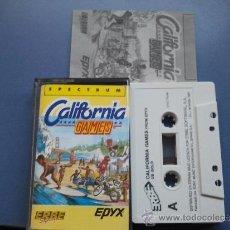 Videojuegos y Consolas: JUEGO SPECTRUM CALIFORNIA GAMES. Lote 33645143