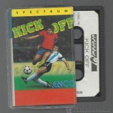 Videojuegos y Consolas: KICK OFF SPECTRUM JUEGO. Lote 34190945