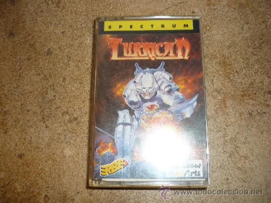 JUEGO SPECTRUM TURRICAN DIFICIL !!!! (Juguetes - Videojuegos y Consolas - Spectrum)