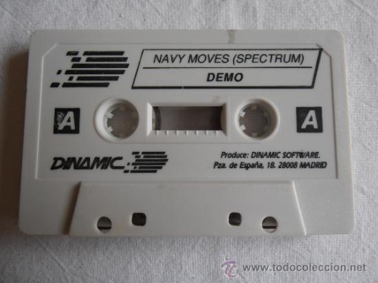JUEGO SPECTRUM DYNAMIC SOFTWARE NAVY MOVES (Juguetes - Videojuegos y Consolas - Spectrum)