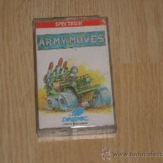 Videojuegos y Consolas: ARMY MOVES COMPLETO SPECTRUM DINAMIC. Lote 38049586