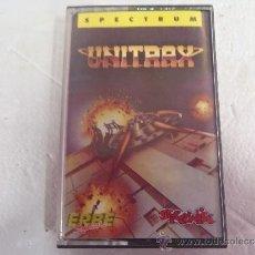 Videojuegos y Consolas: JUEGO SPECTRUM UNITRAX. Lote 38247094