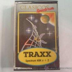 Videojuegos y Consolas: JUEGO DE SPECTRUM FUTBOL TRAXX. Lote 38391856