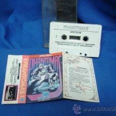Videojuegos y Consolas: - SPECTRUM - PHANTOMAS - JUEGO EN CINTA - DINAMIC 1988. Lote 38614668