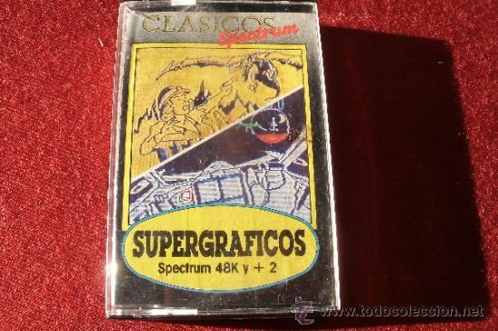 JUEGO SPECTRUM - SPECTRUM SUPERGRAFICOS, EN SU CAJA (Juguetes - Videojuegos y Consolas - Spectrum)
