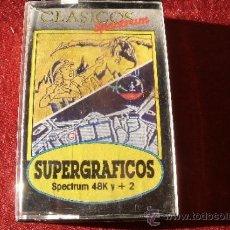 Videojuegos y Consolas: JUEGO SPECTRUM - SPECTRUM SUPERGRAFICOS, EN SU CAJA. Lote 38625724