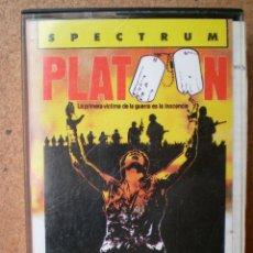 Videojuegos y Consolas: JUEGO PLATOON SPECTRUM. Lote 39526986