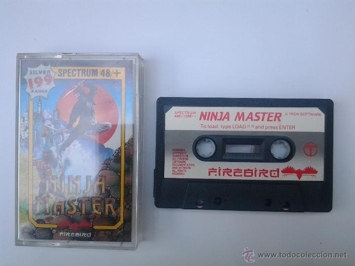 JUEGO DE SPECTRUM NINJA MASTER (Juguetes - Videojuegos y Consolas - Spectrum)