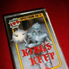 Videojuegos y Consolas: KING'S KEEP NUEVO PRECINTADO - JUEGO PARA ORDENADORES SPECTRUM. AÑOS 80 . Lote 39849145