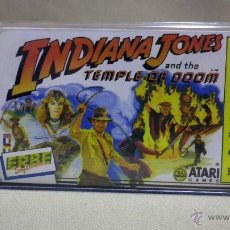 Videojuegos y Consolas: CASETE, JUEGO PARA SPECTRUM, INDIANA JONES, TEMPLO DE DOOM, ERBE. Lote 39953933