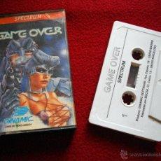 Videojuegos y Consolas: GAME OVER - DINAMIC - JUEGO PARA ORDENADORES SPECTRUM. AÑOS 80. LEER. Lote 39904821