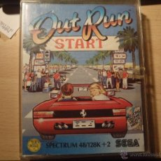 Videojuegos y Consolas: SPECTRUM OUT RUN START. Lote 40424366