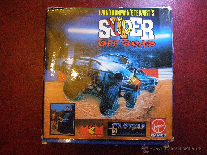Videojuegos y Consolas: Juego Zx Spectrum y compatibles - Super Off Road - Virgin Games - Completo - Foto 1 - 41477020
