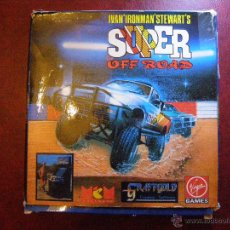 Videojuegos y Consolas: JUEGO ZX SPECTRUM Y COMPATIBLES - SUPER OFF ROAD - VIRGIN GAMES - COMPLETO. Lote 41477020