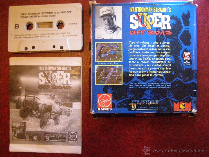 Videojuegos y Consolas: Juego Zx Spectrum y compatibles - Super Off Road - Virgin Games - Completo - Foto 2 - 41477020