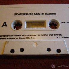 Videojuegos y Consolas: JUEGO ZX SPECTRUM Y COMPATIBLES - SKATEBOARD KIDZ- BY SILVERBIRD - MCM SOFTWARE - CBS - 1988. Lote 41477166