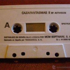 Videojuegos y Consolas: JUEGO ZX SPECTRUM Y COMPATIBLES - CAZAFANTASMAS II - BY ACTIVISION -MCM SOFTWARE-TECNODISCO- 1989. Lote 41477197